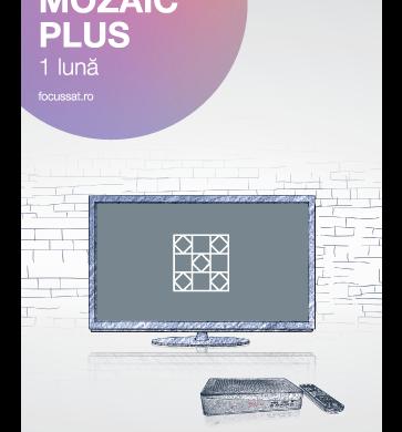 Ce contine pachetul Mozaic Plus de la Focus Sat